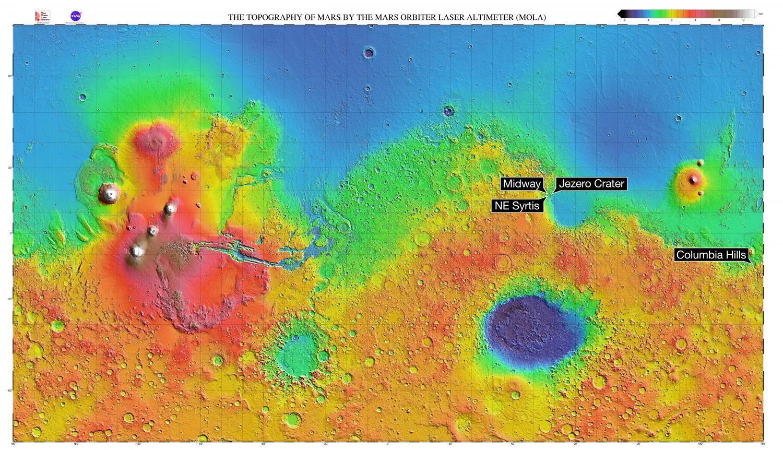 NASA/MGS/MOLA Science Team