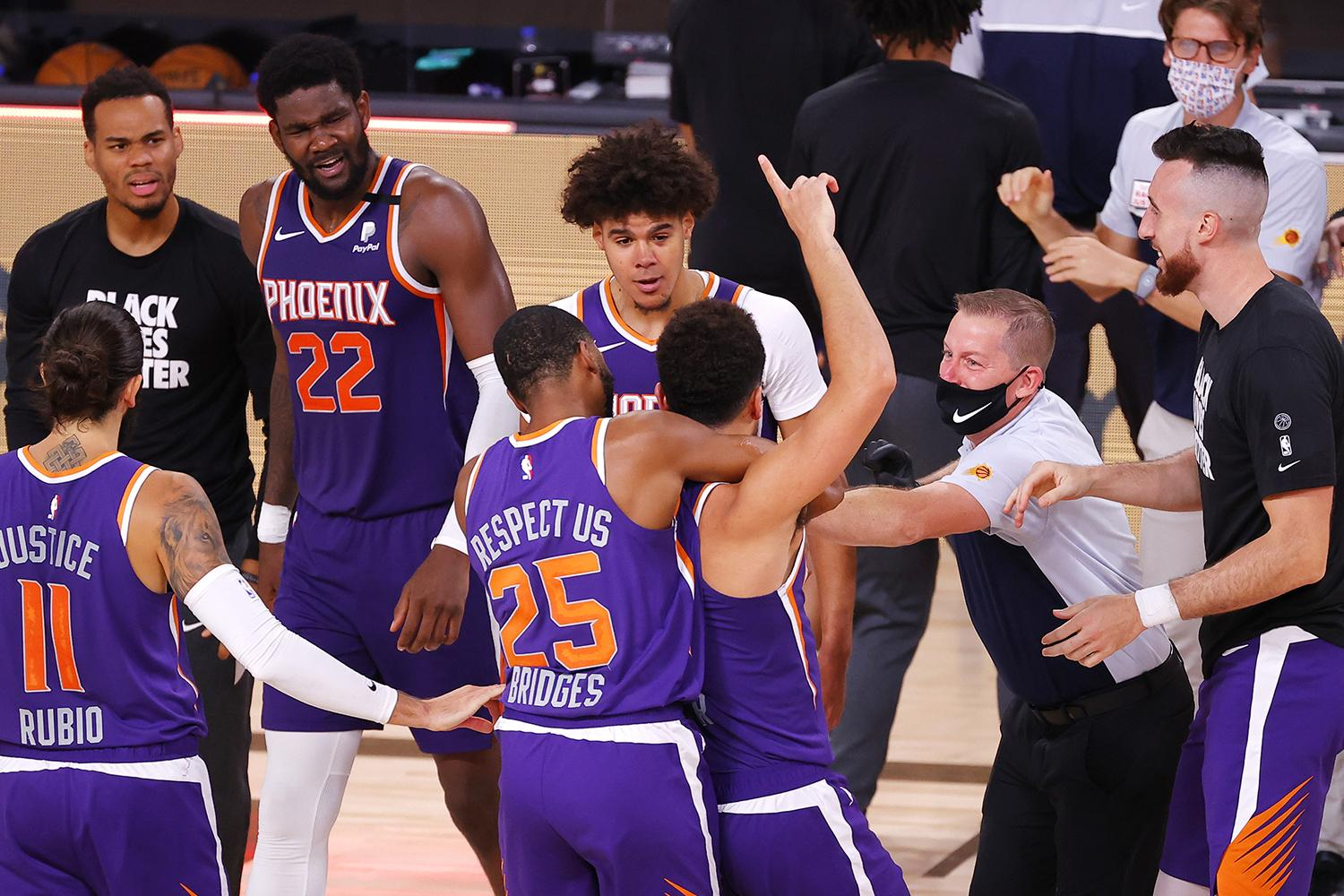 Undefeated In The Bubble, Suns Narrowly Miss Playoffs | KJZZSuns