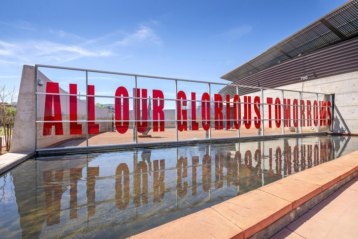 """Kristin Bauer's installation """"Tomorrows"""" at Tempe Center for the Arts."""