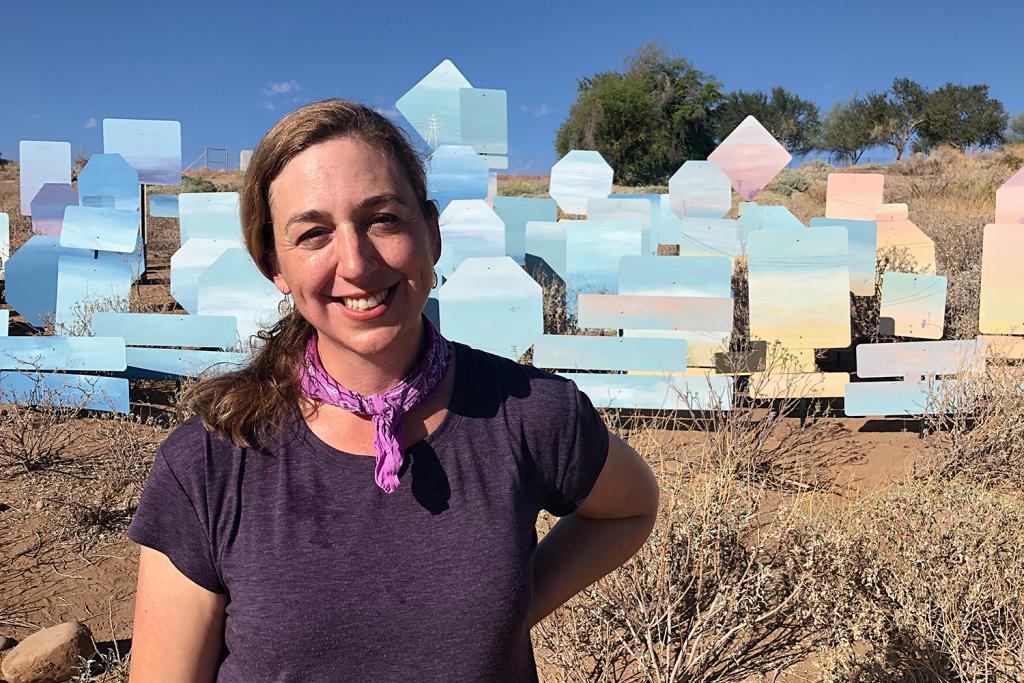 Laura Spalding Best Rise mural Tempe