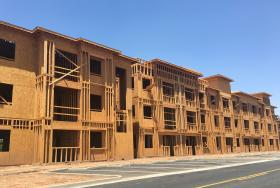 East Valley apartment construction