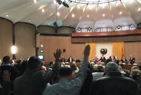 innvocation before a Phoenix City Council meeting
