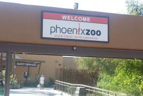 Phoenix Zoo entrance