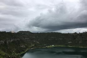 Aljojuca lagoon