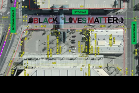 Proposed Black Lives Matter street mural for downtown Phoenix