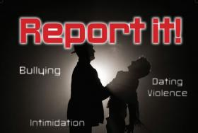 report it poster