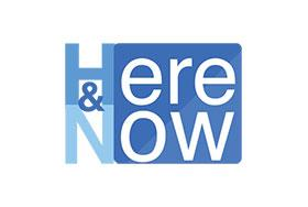 kjzz's here and now logo