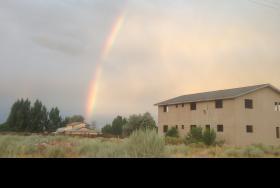 Rainbow in Short Creek
