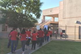 Mesa Desert Ridge High School teachers