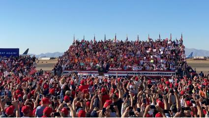 Trump Returns To AZ With Rallies In Bullhead City, Goodyear