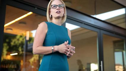 Sinema says shes negotiating in good faith with Biden