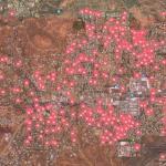 Sedona short term rentals map