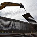Tucson sector border wall construction