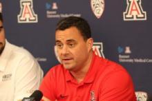 University of Arizona Basketball Coach Sean Miller