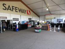 Pop-up Safeway Feeds NASCAR Fans At Phoenix International