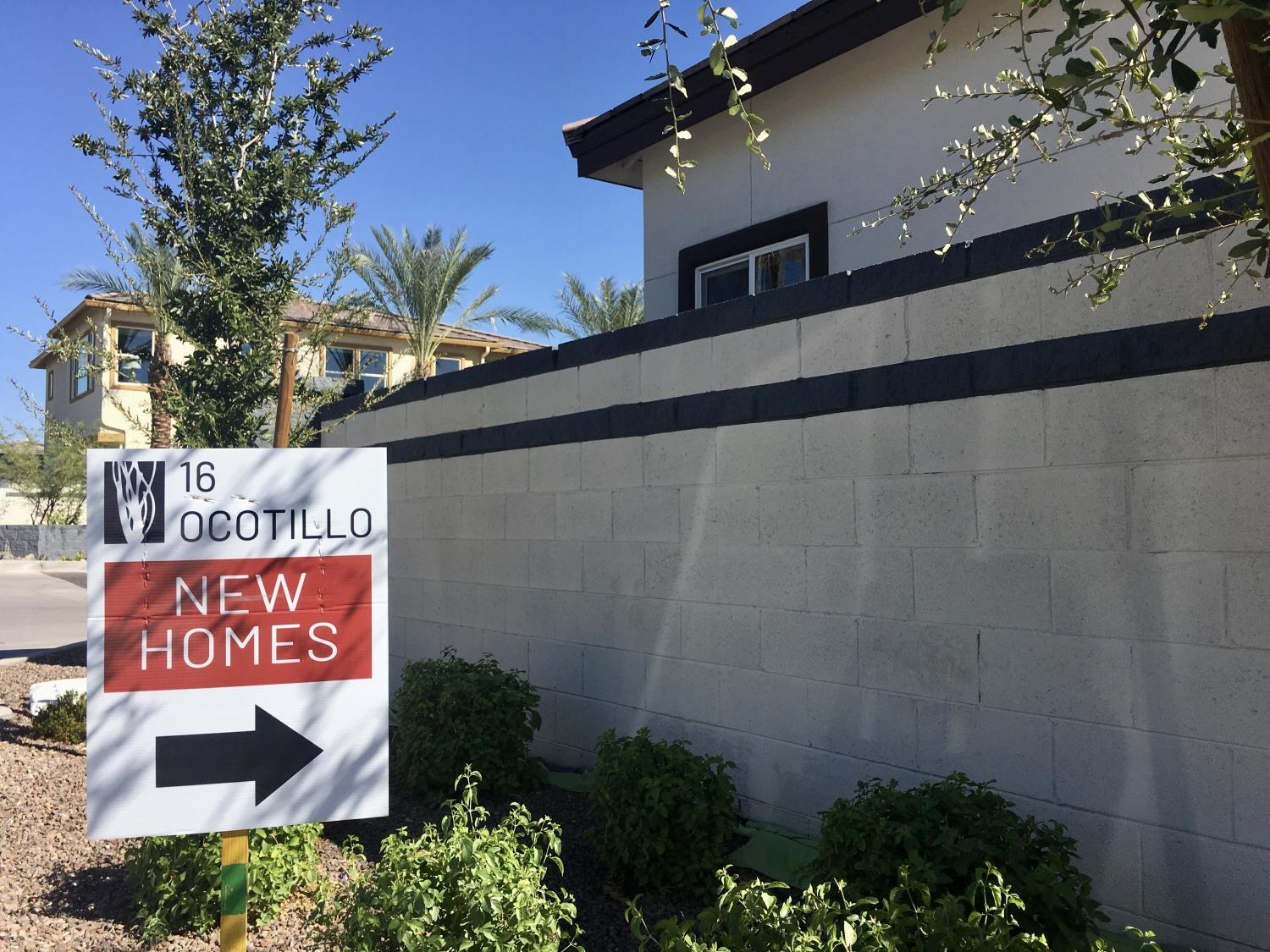 A new gated community near 16th Street and Glendale Avenu