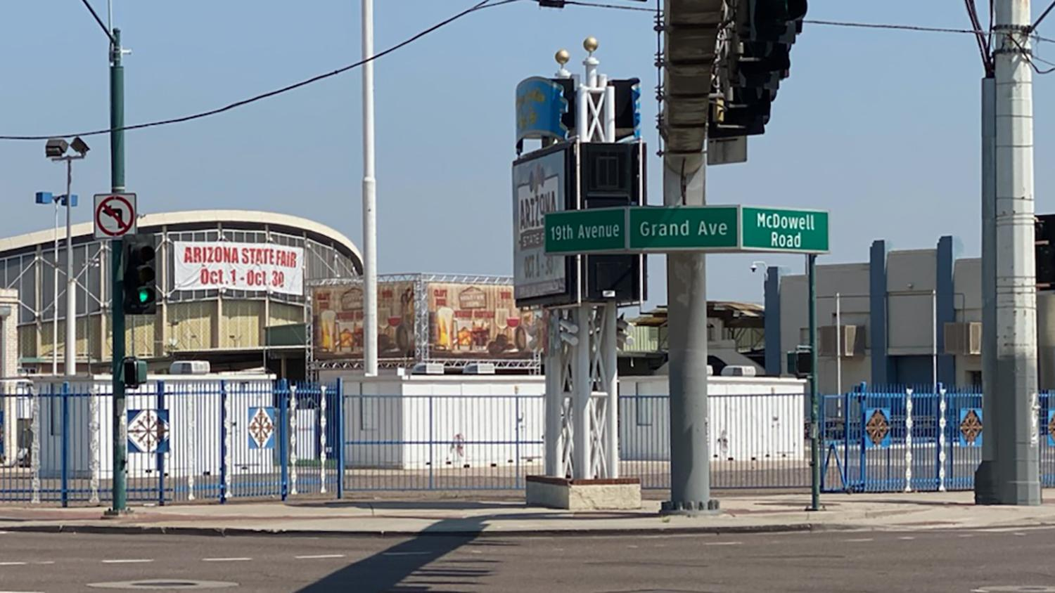 the intersections of Grand and 19th avenues and McDowell Road