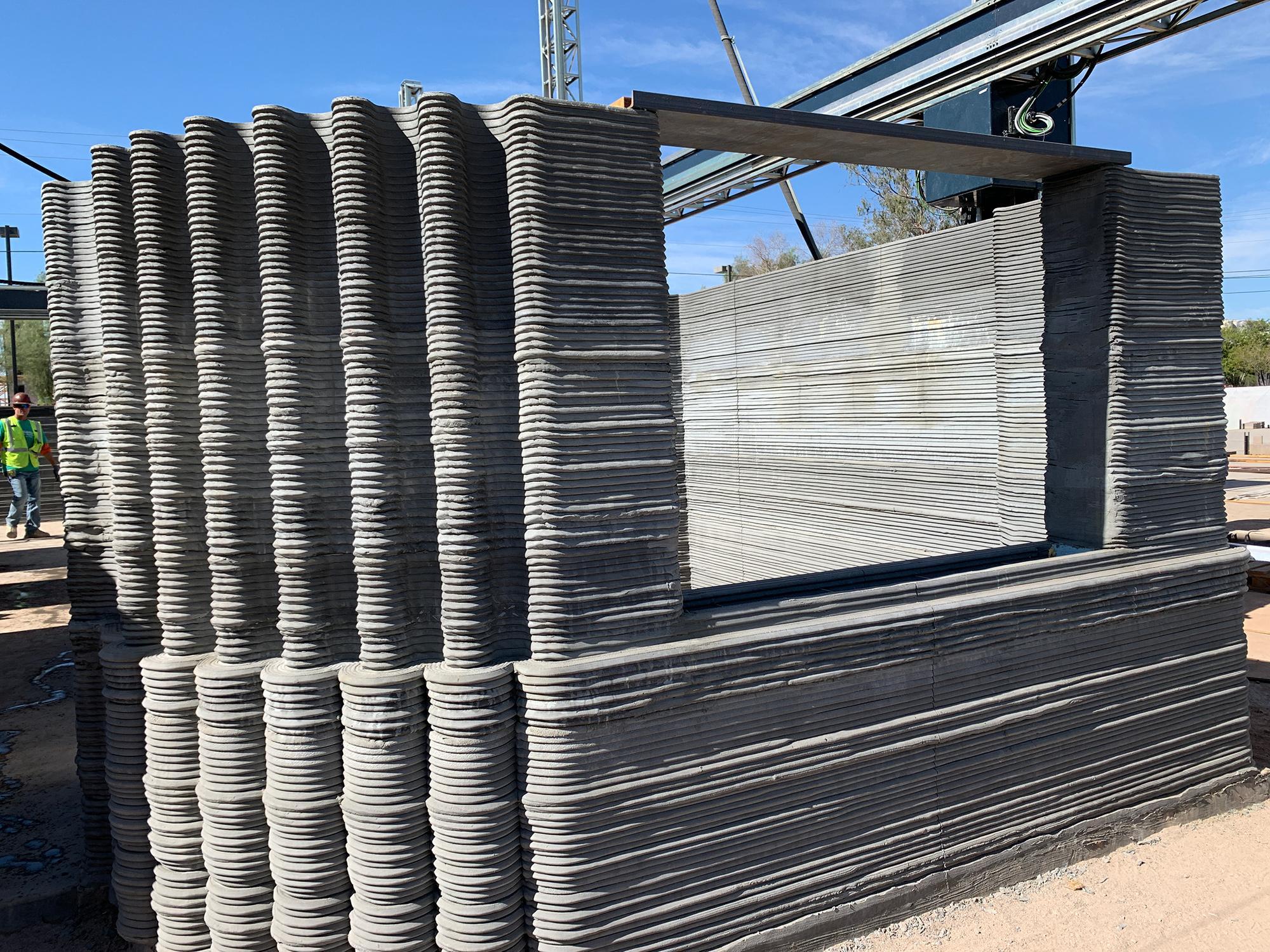 Habitat for Humanity 3D-printed house Tempe Arizona