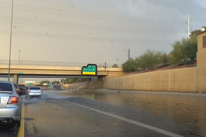 Flooding on U.S. Route 60