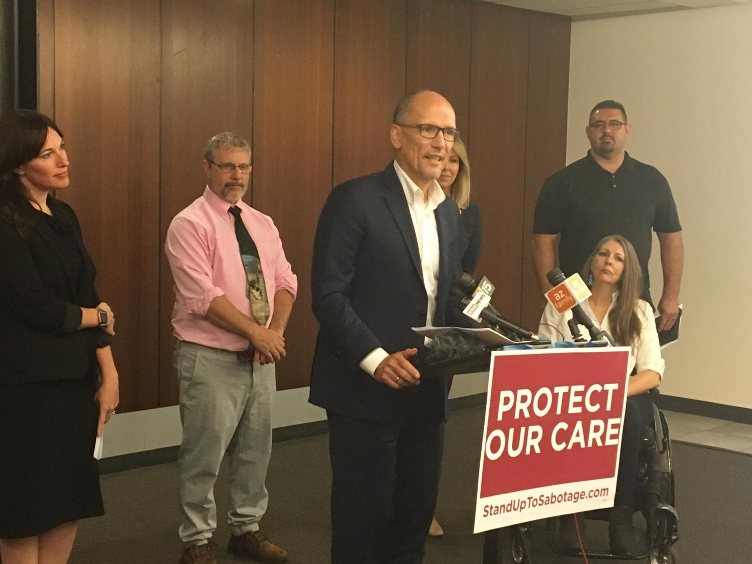 Tom Perez Protect Our Care