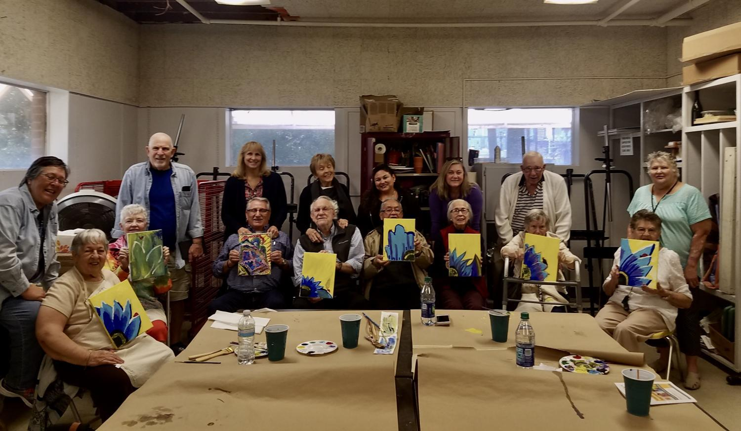 Participants in Phoenix Center for the Arts