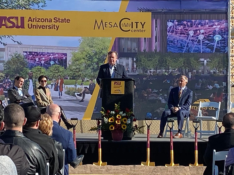 ASU Downtown Mesa Michael Crow John Giles