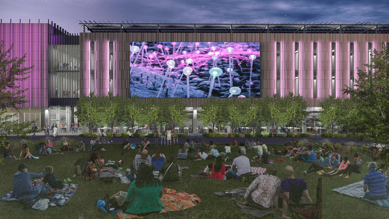 ASU @ Mesa City Center rendering