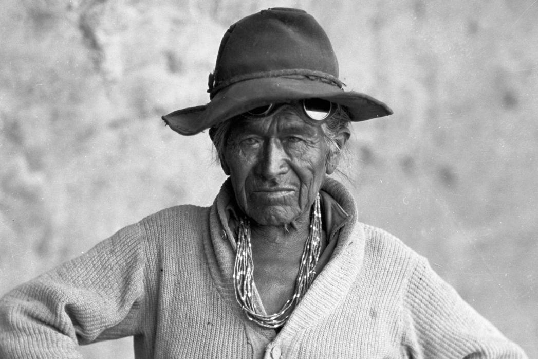"""""""Heavy Man,"""" Diné (Navajo) 1927"""
