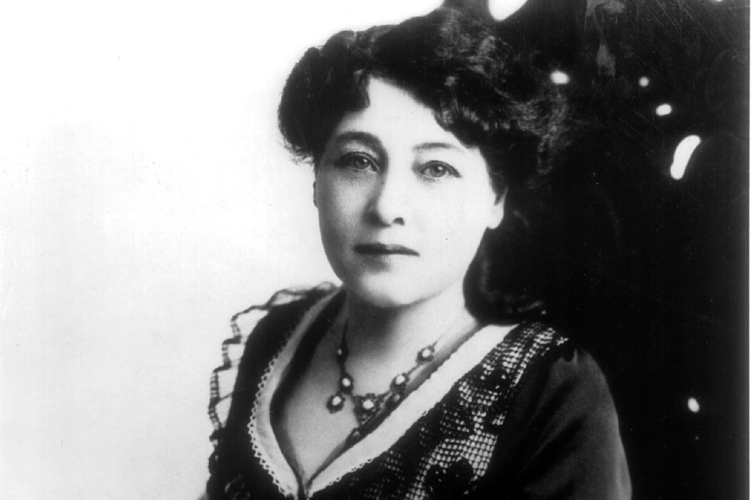 Alice Guy-Blaché portrait picture