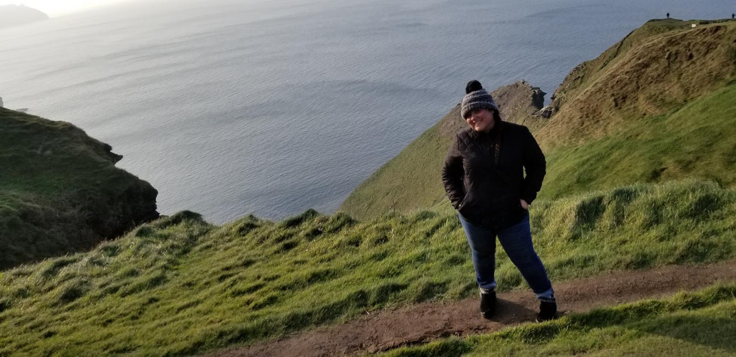 Anel Arriola in Ireland