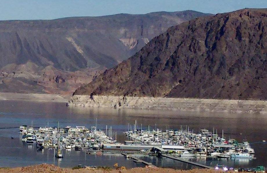 Boats at Lake Mead