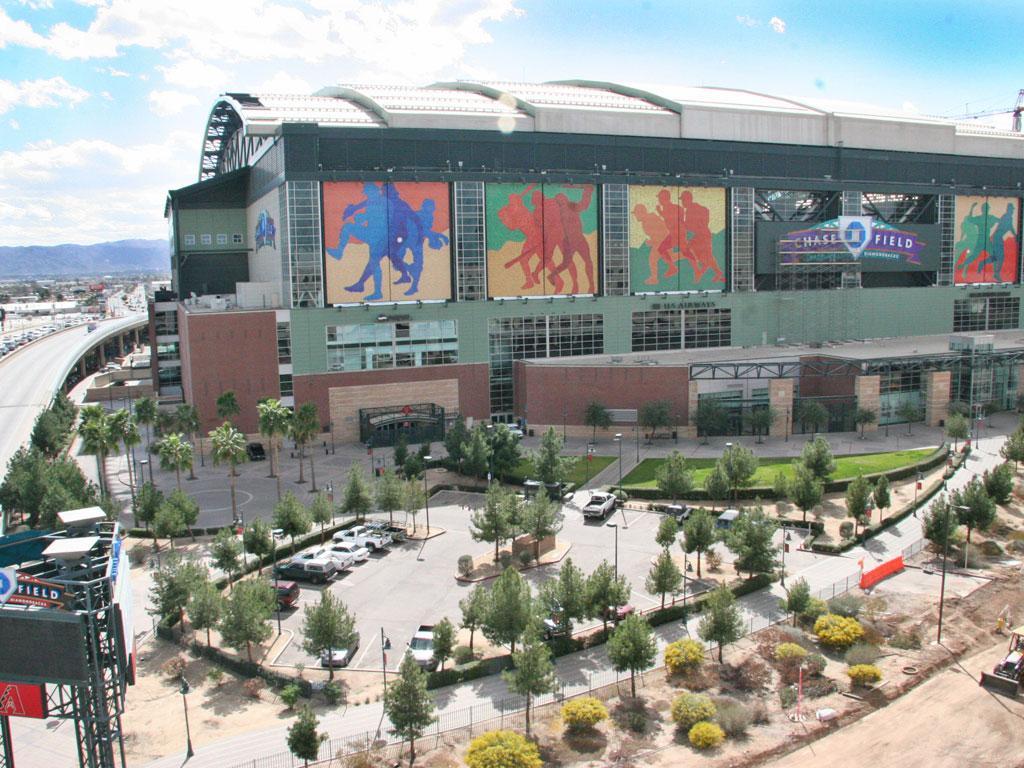 Chase Field in downtown Phoenix