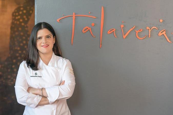 Chef Samantha Sanz, who oversees the Resort's Talavera restaurant