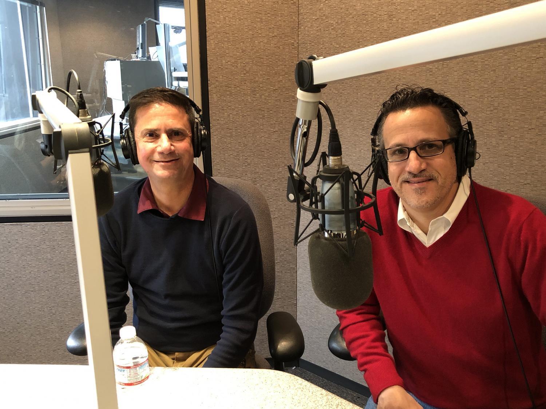 David Lujan (left) and Marcus Dell'Artino