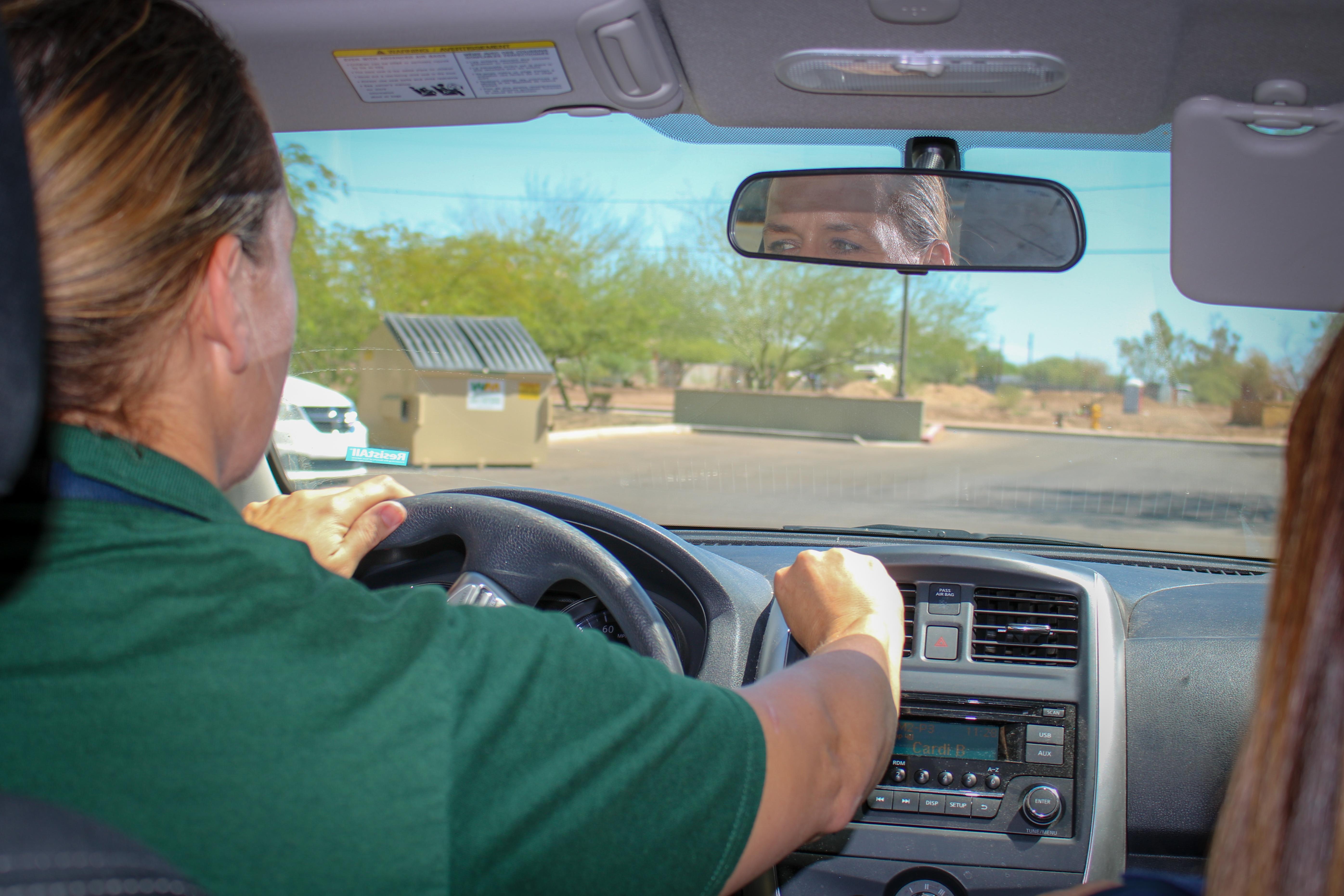 Dawn Lynn Downes-Bunney driving