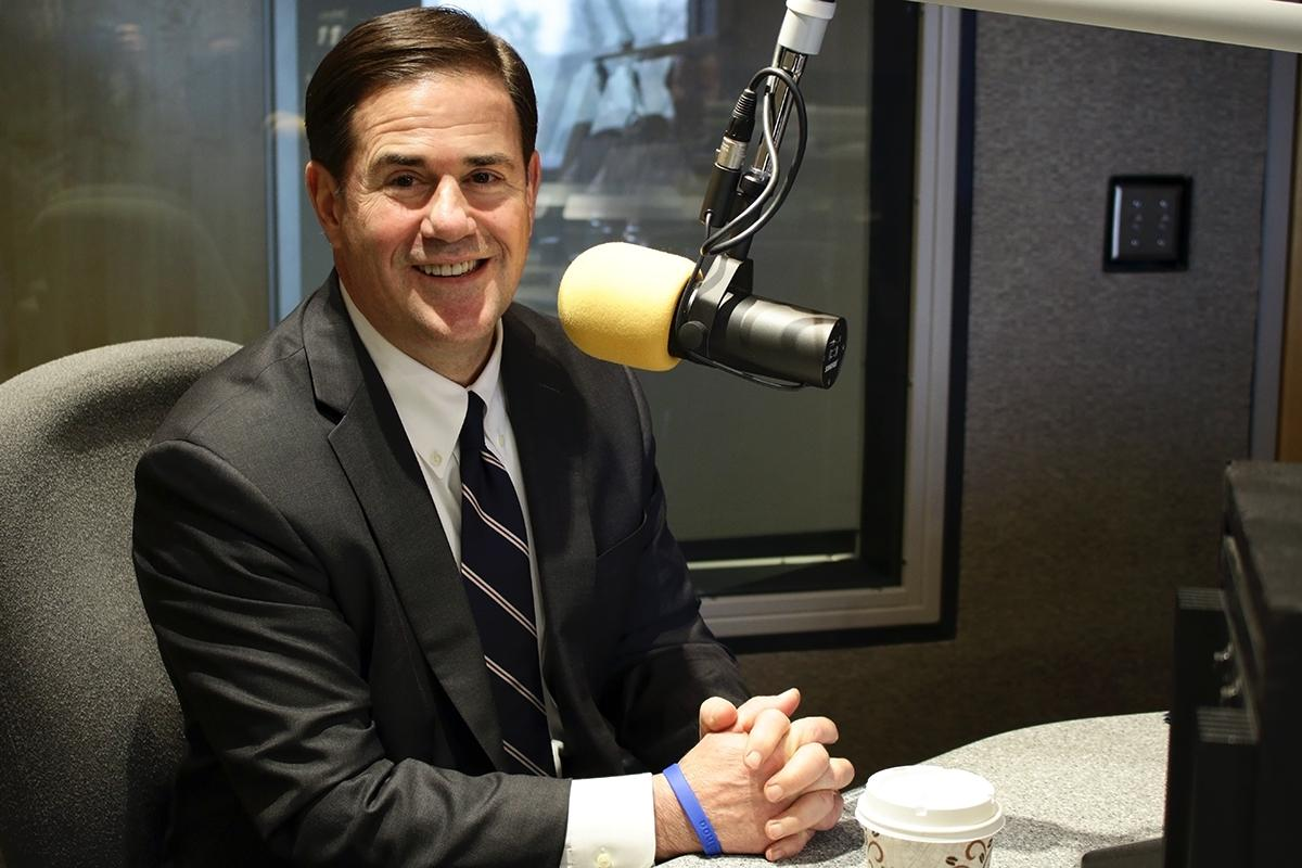 Gov. Doug Ducey in KJZZ