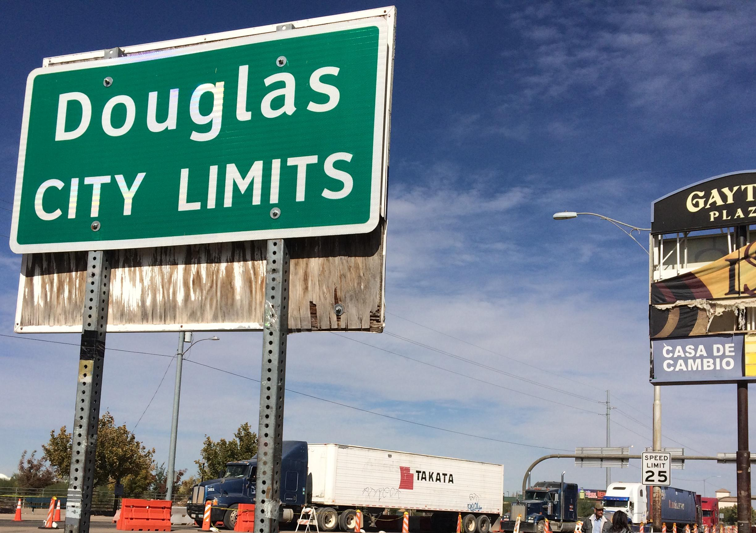 Douglas city limits