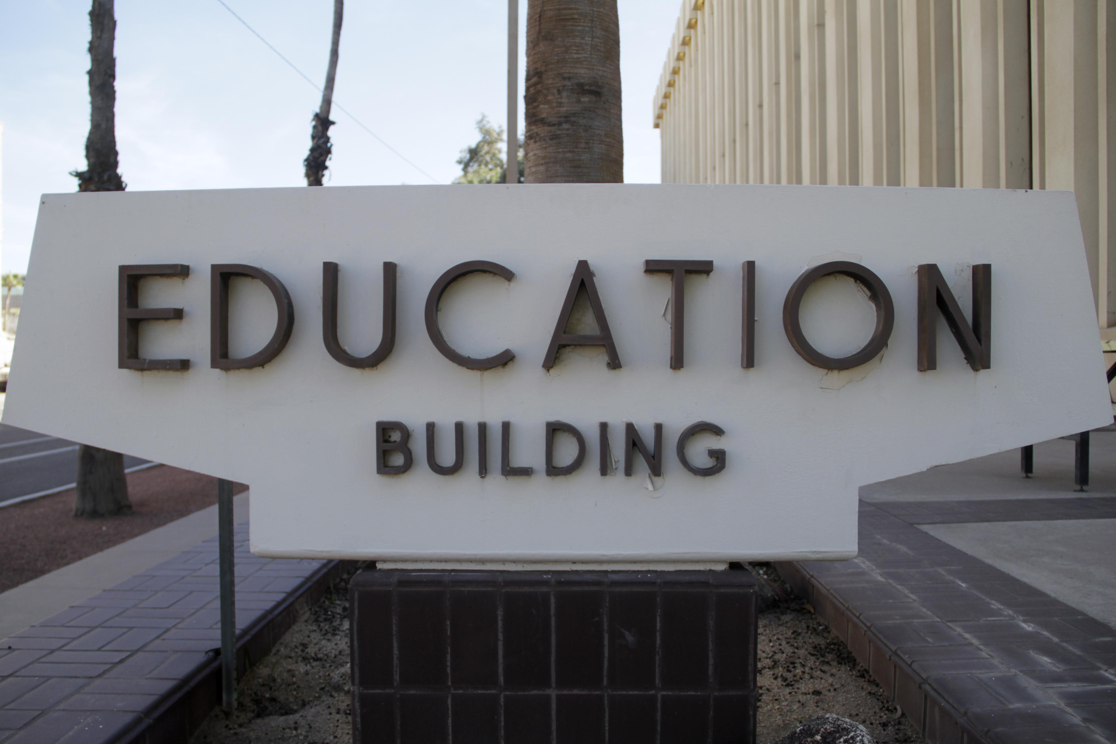 The Arizona Department of Education building