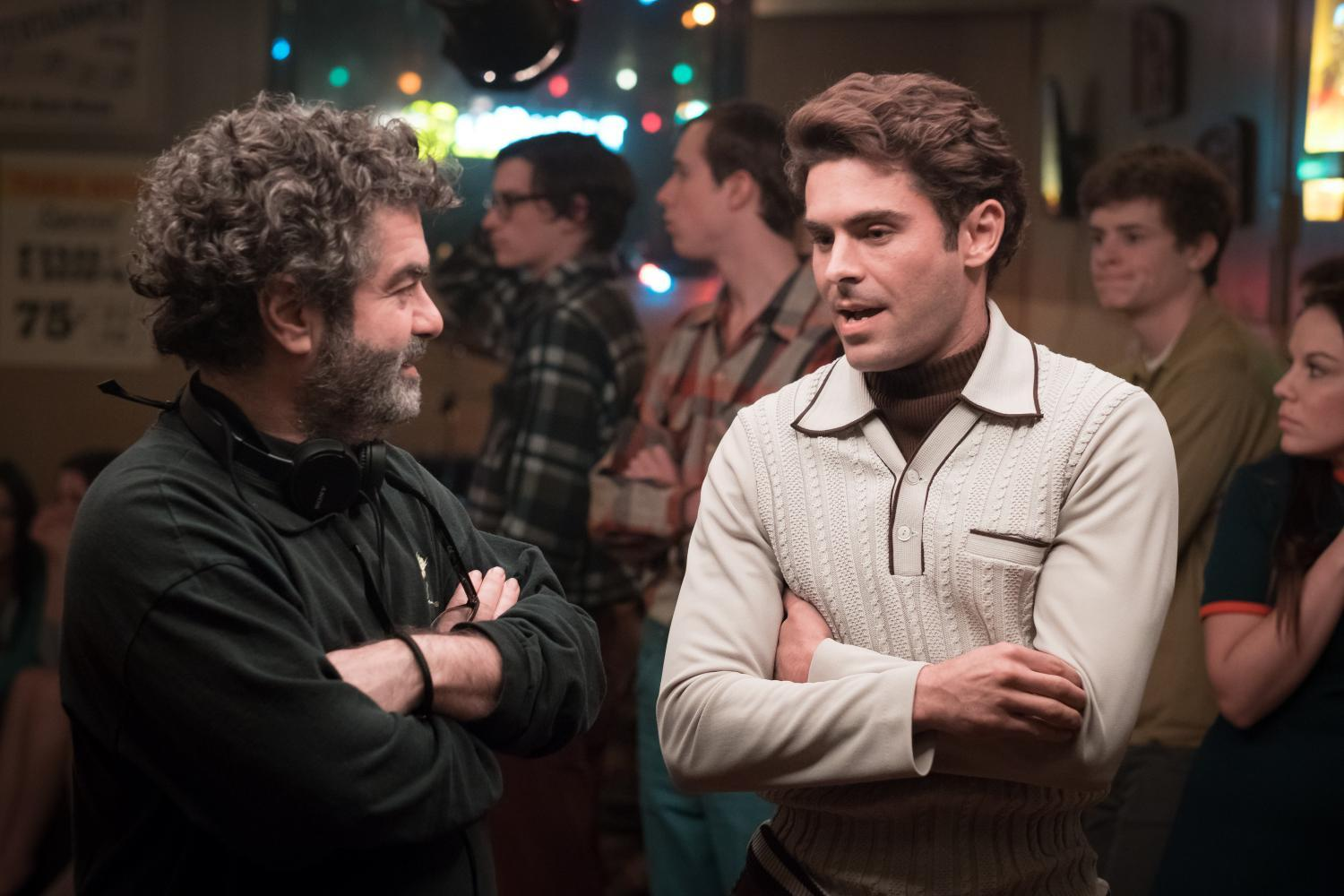 Director Joe Berlinger and Zac Efron