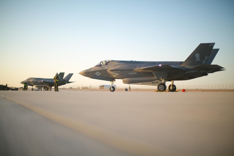 F-35B Lightning II jets