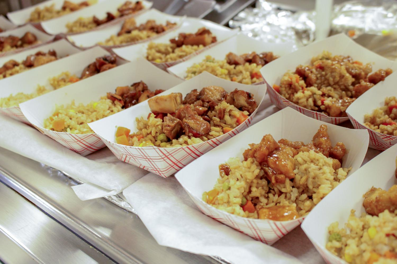 Meals in the summer feeding program