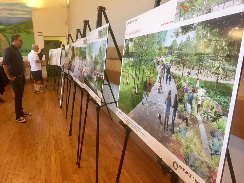 design plans for Margaret T. Hance Park