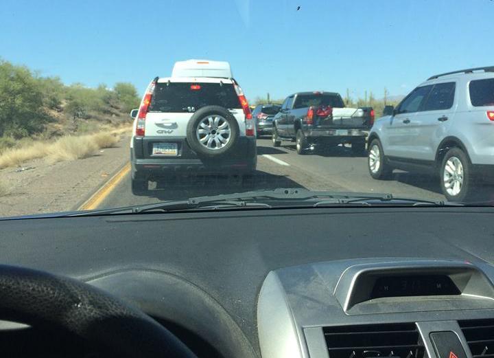 traffic on Interstate 17