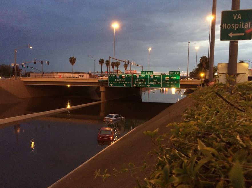 Interstate 17 flooding