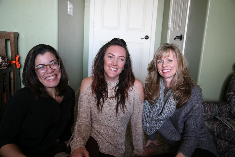 Fernanda Santos, Krista Eckel and Debbie Mazzella
