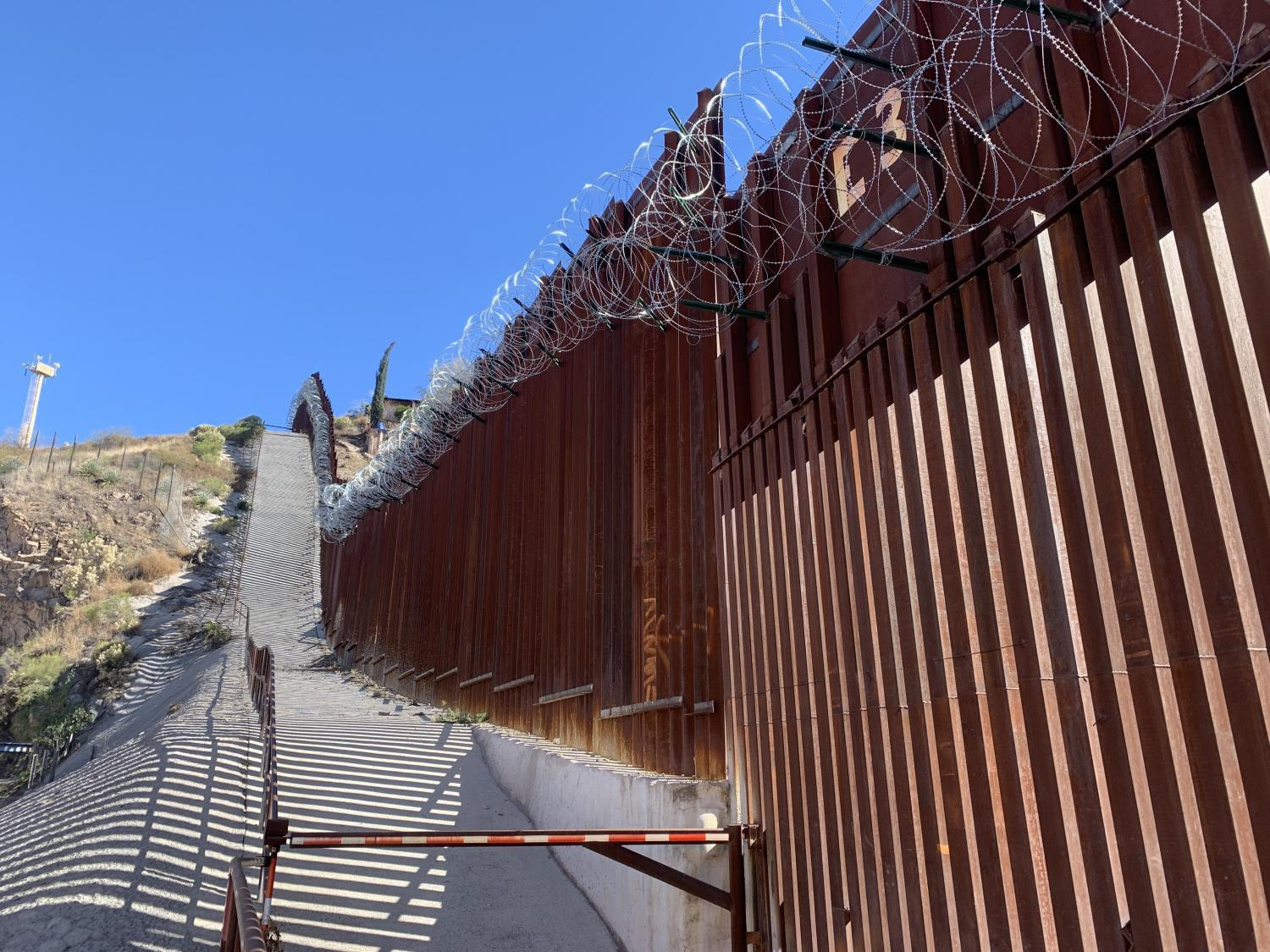 Border in Nogales