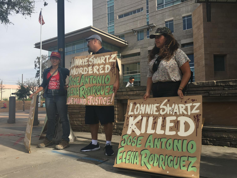 Activists decried the jury