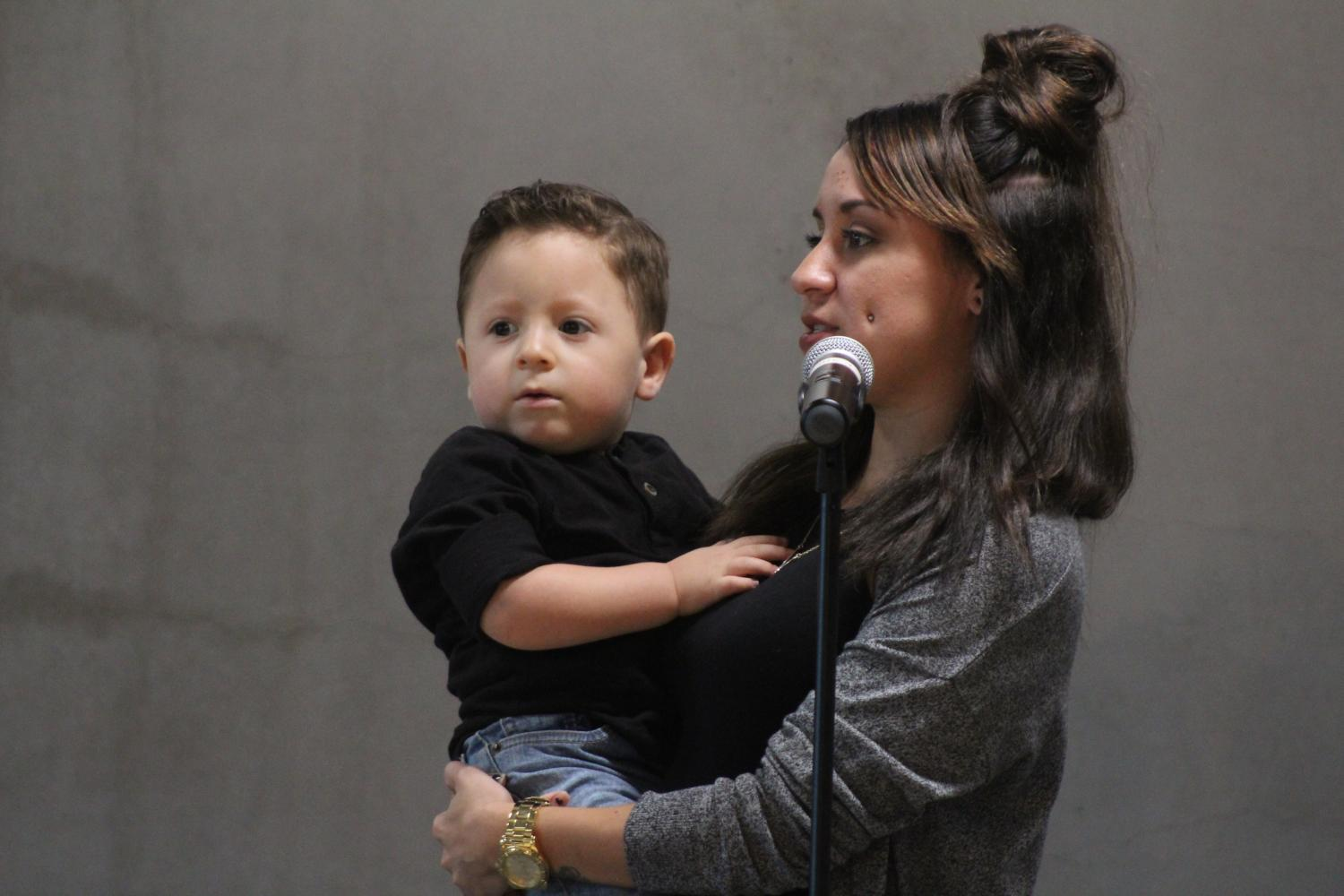 Lisette Leyba's son Ezra was diagnosed with Prader-Willi syndrome, a condition characterized by weak muscle tone, feeding difficulties and delayed development.
