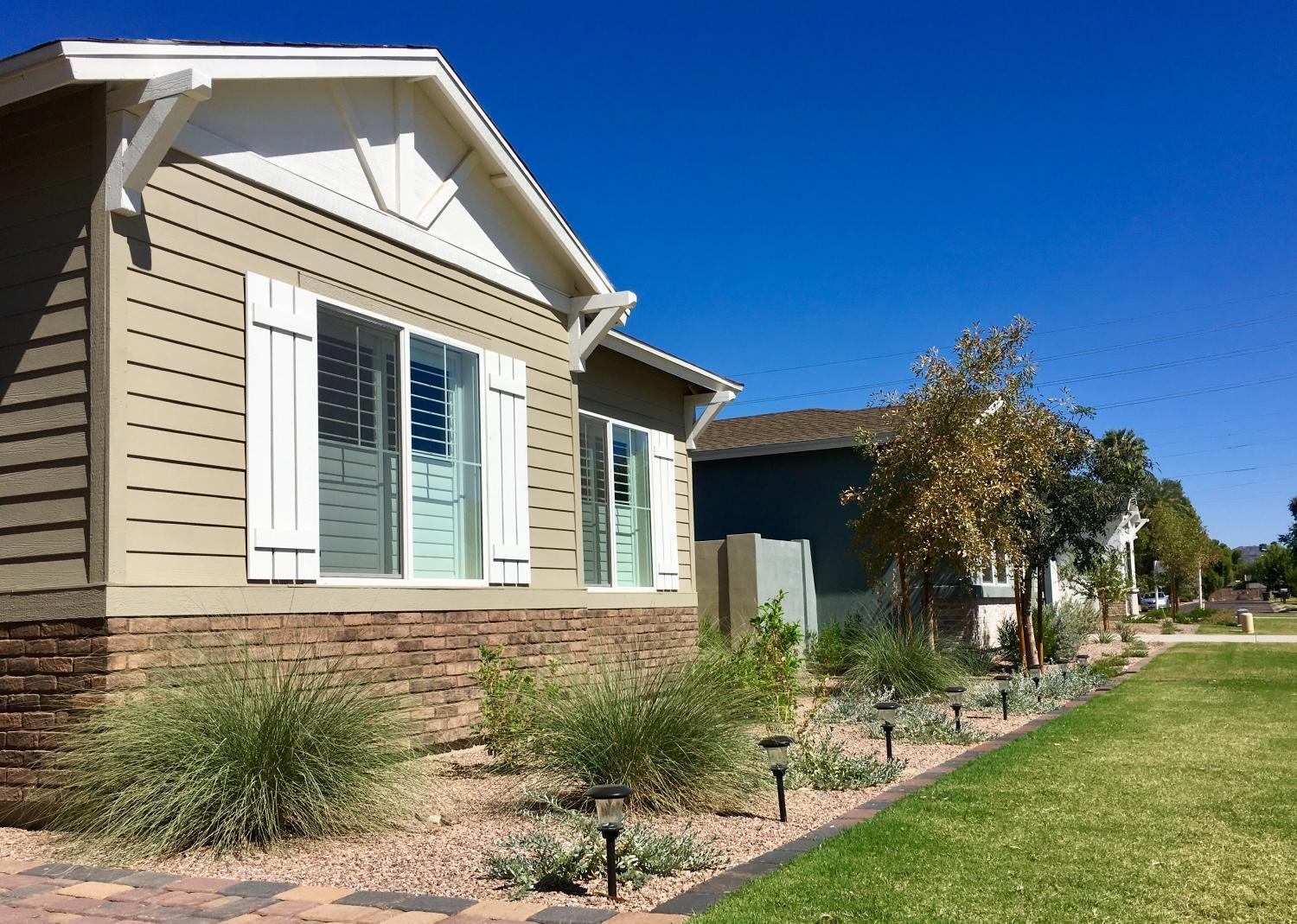 New infill houses in Phoenix