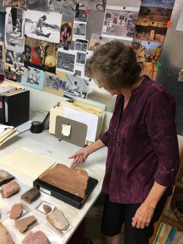 Jenny Adams of Desert Archaeology